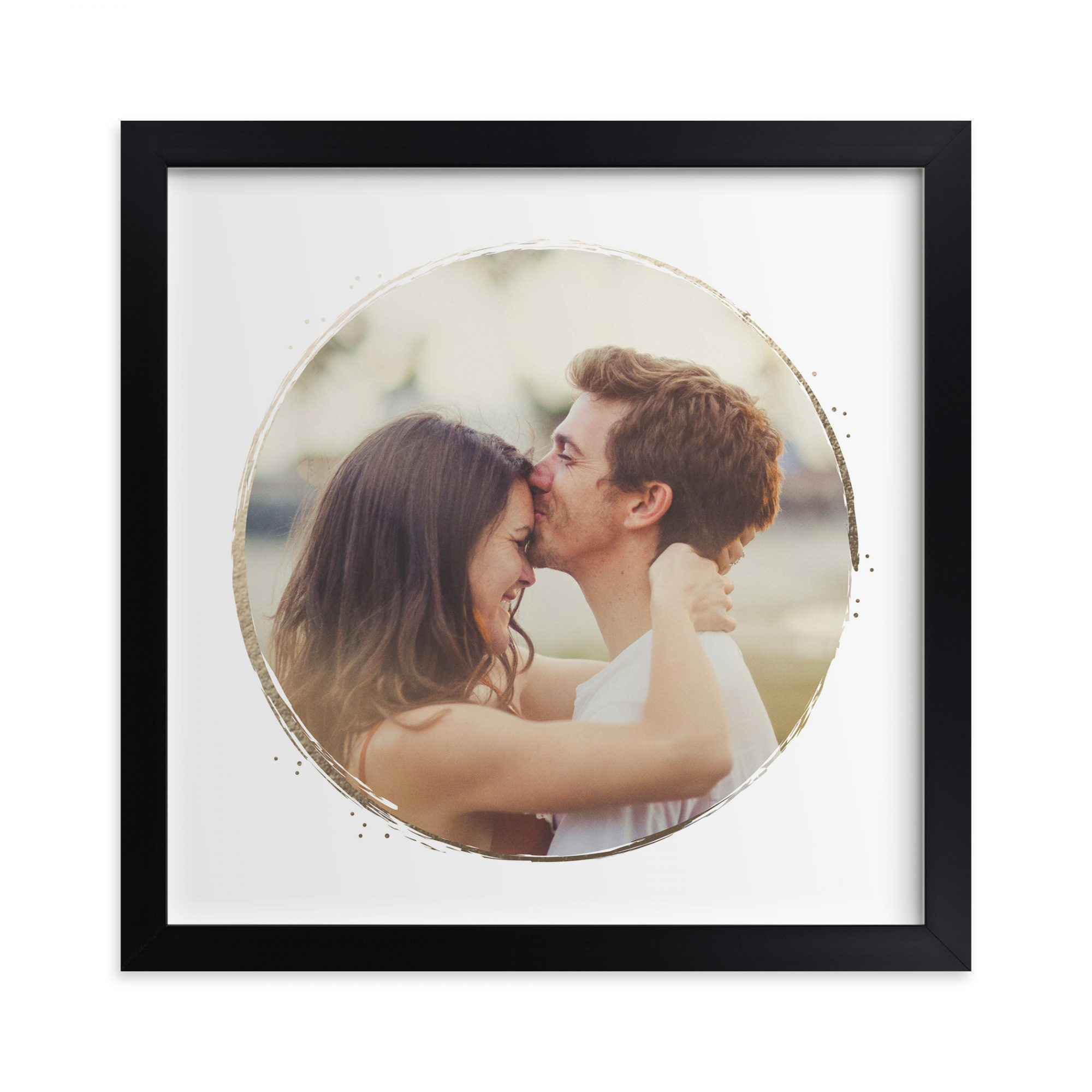 Minted. Lightly Gilted Custom Photo Art