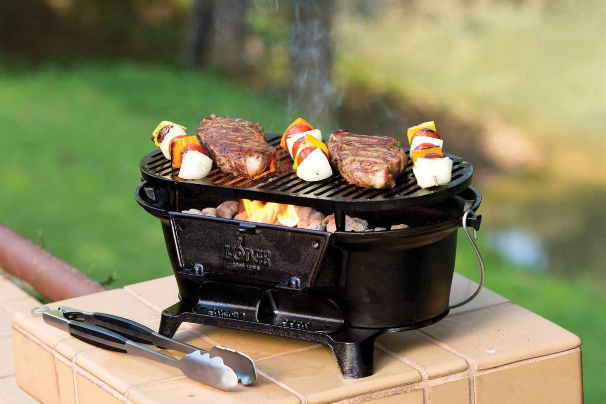 Lodge's Best Cast Iron Grilling Tools Are Up to 50 Percent Off at Amazon Right Now