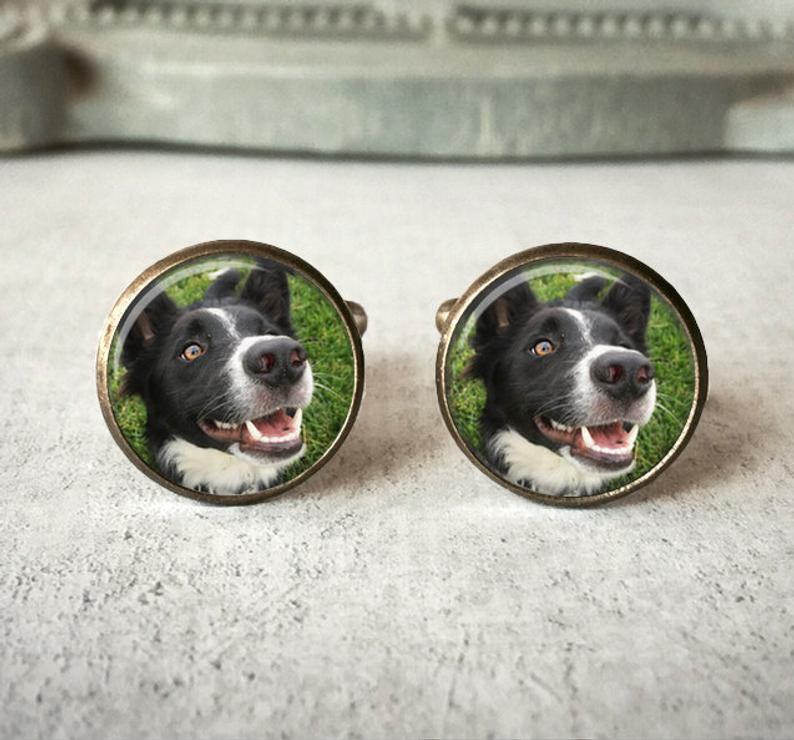 Personalized Pet Photo Cufflinks