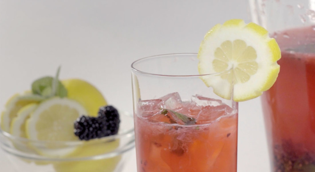 How to Make Chick-fil-A Sparkling Blackberry Mint Lemonade