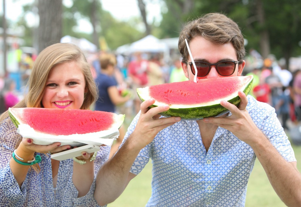 One Tiny Arkansas Town Has a Festival for its Giant Watermelons