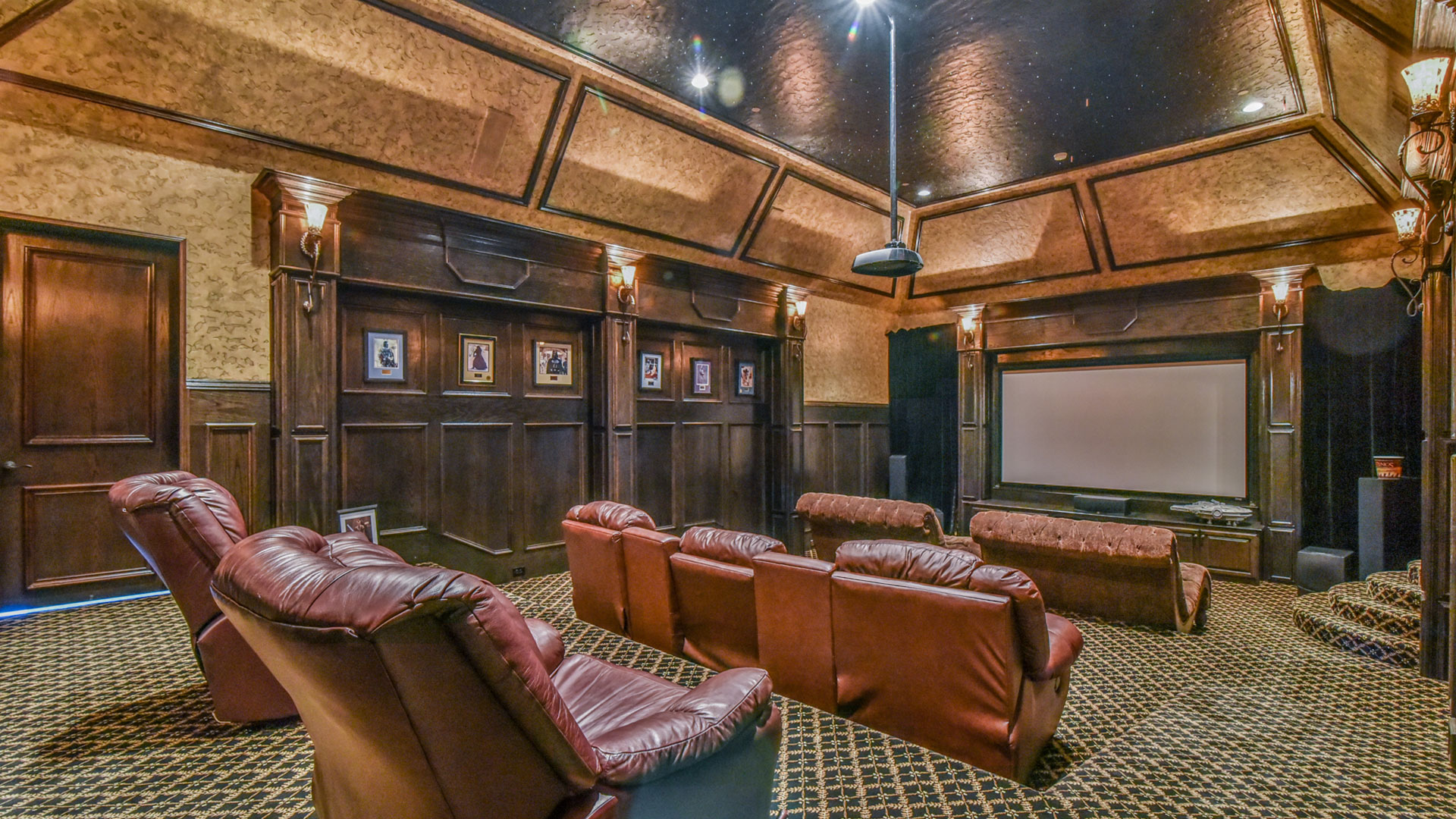 White Chapel Boulevard Castle Home Theater