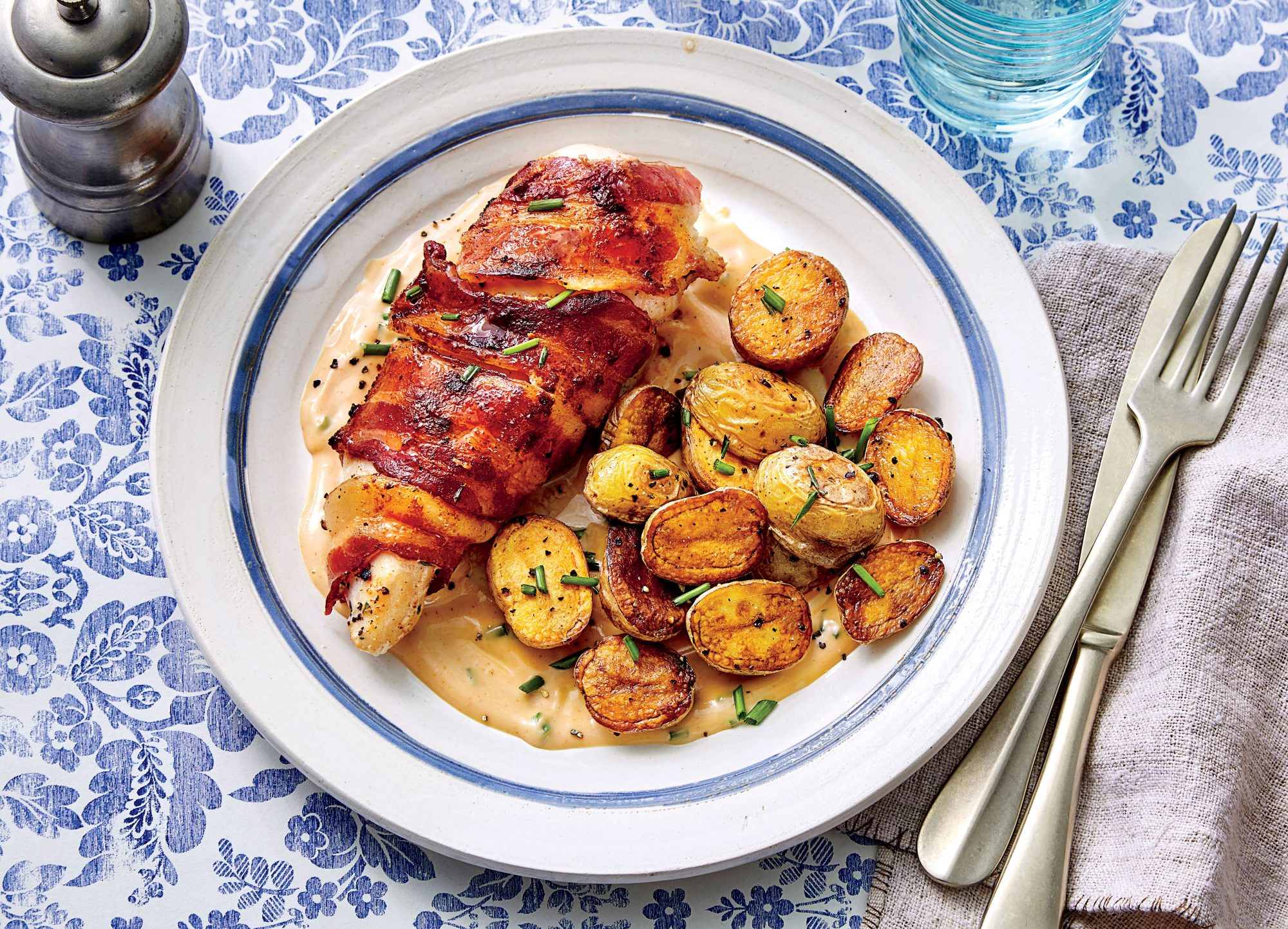 Bacon-Wrapped Chicken Breasts