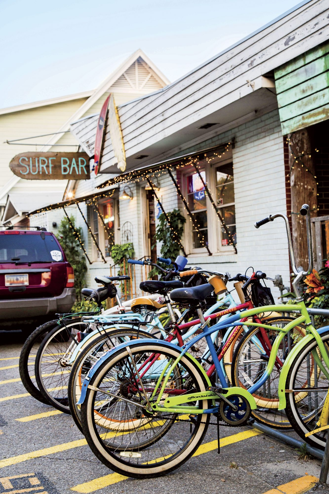 Surf Bar in Folly Beach, SC
