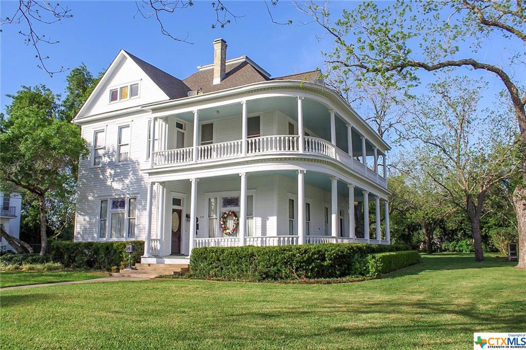 Two-Story Wraparound Porch