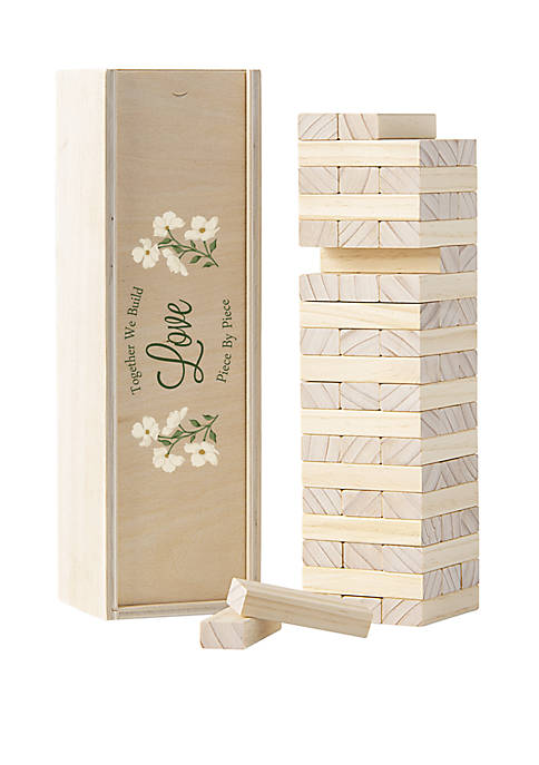 Cathy's Concepts Building Love Wedding Guest Book, $65