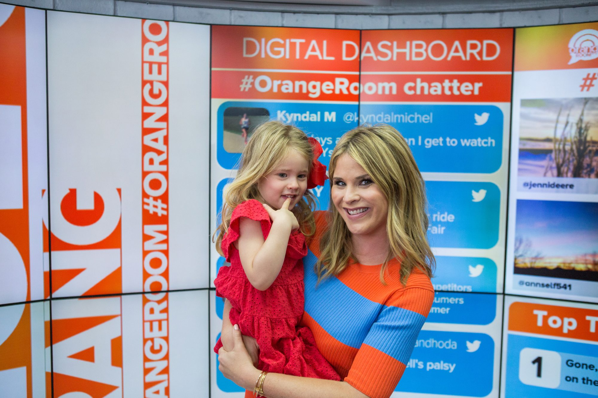Jenna Bush Hager with daughter Mila