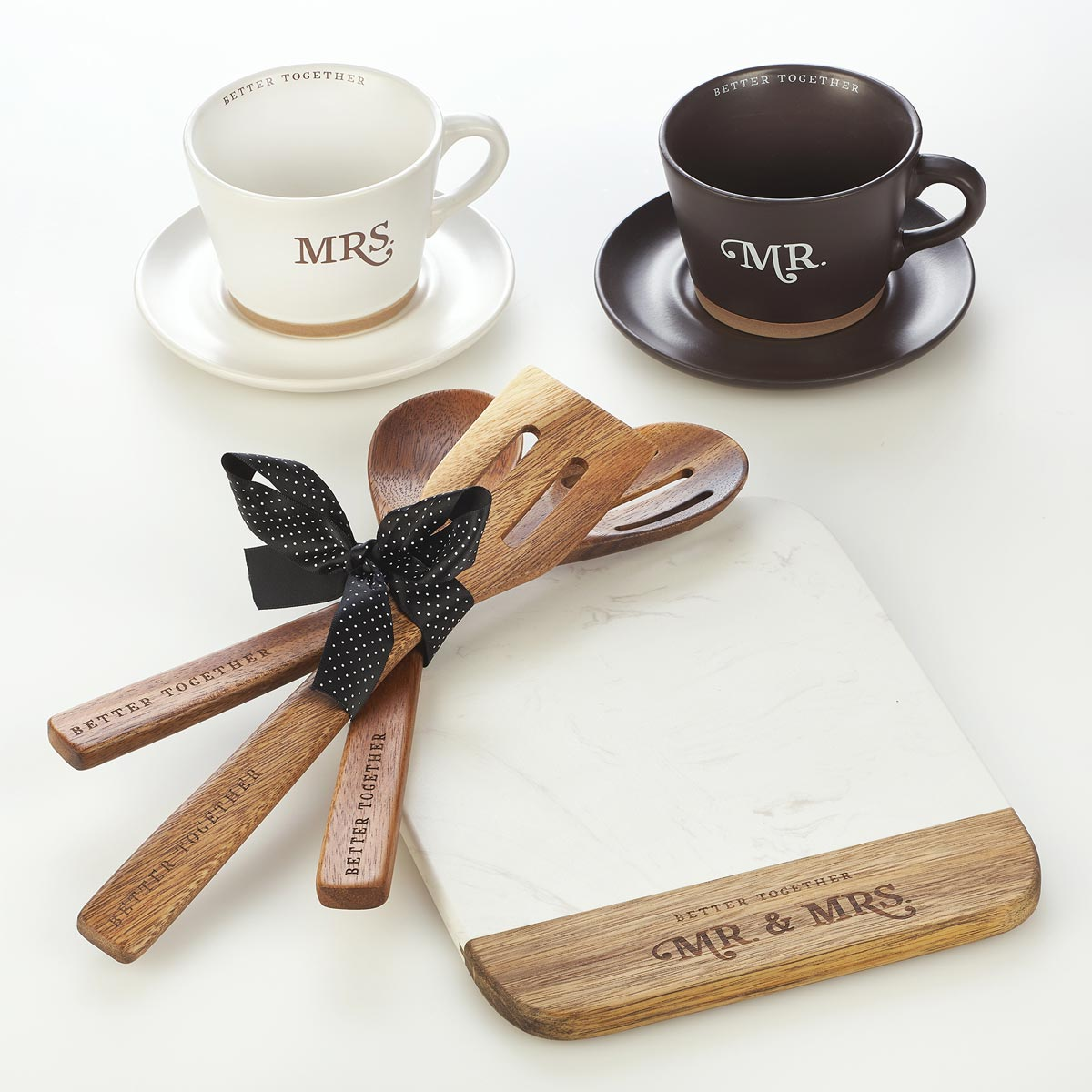 Inspirational Gifts Mr. and Mrs. Gift Set, $49.99