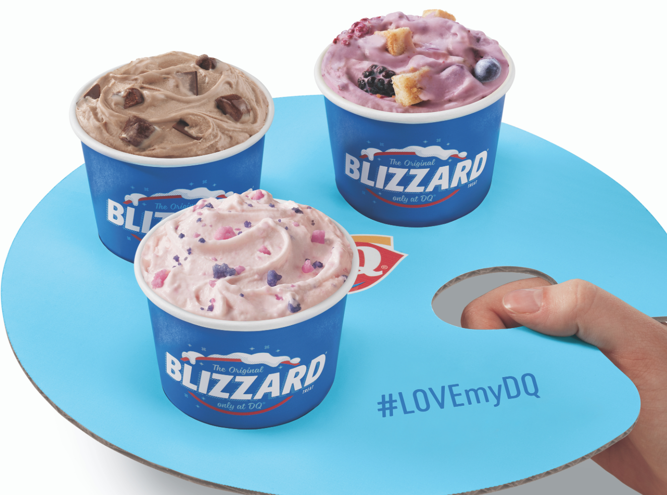 Dairy Queen Just Debuted a Mini Blizzard Flight and Summer Is Saved