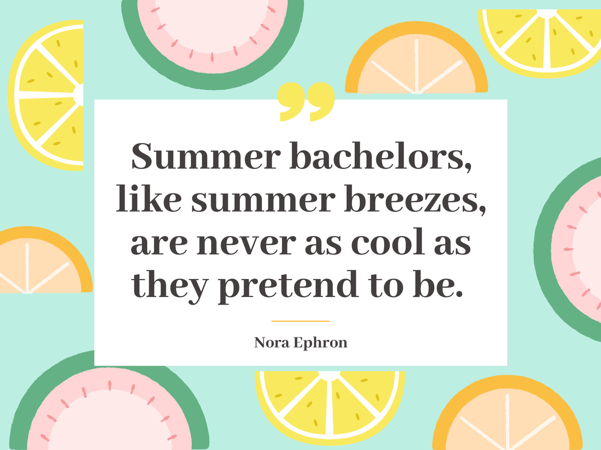 Funny Summer Quotes