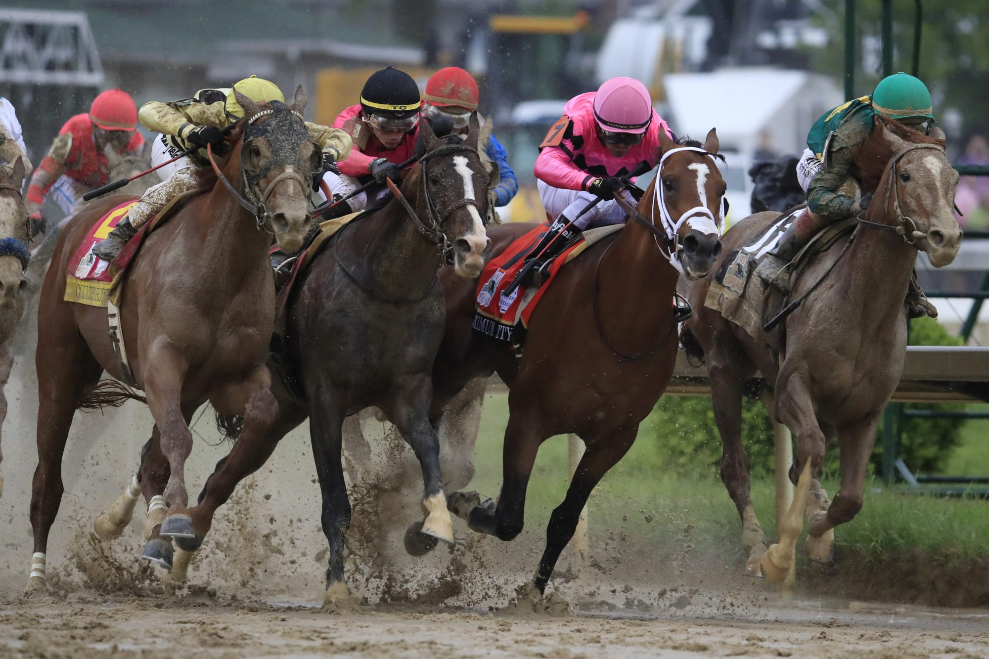 Country House Wins the 145th Kentucky Derby Over Maximum Security in Historic Reversal