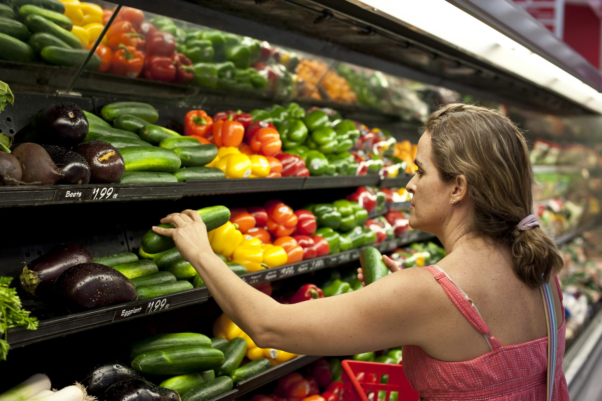 WATCH: The Reason Grocery Stores Spray Water on Their Produce Will Blow Your Mind