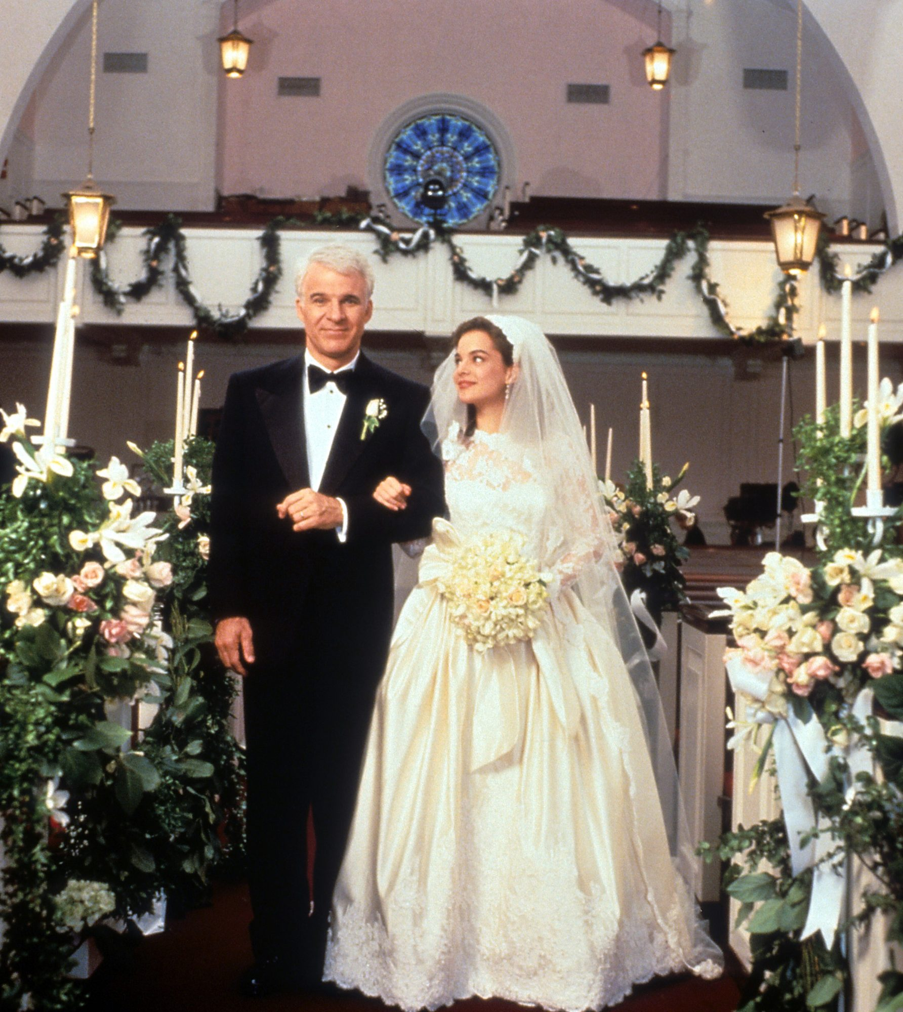 Father of the Bride Movie Walking Down the Aisle