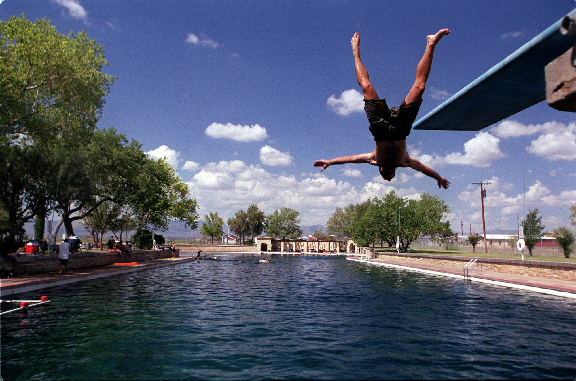 Balmorhea State Park Swimming Hole