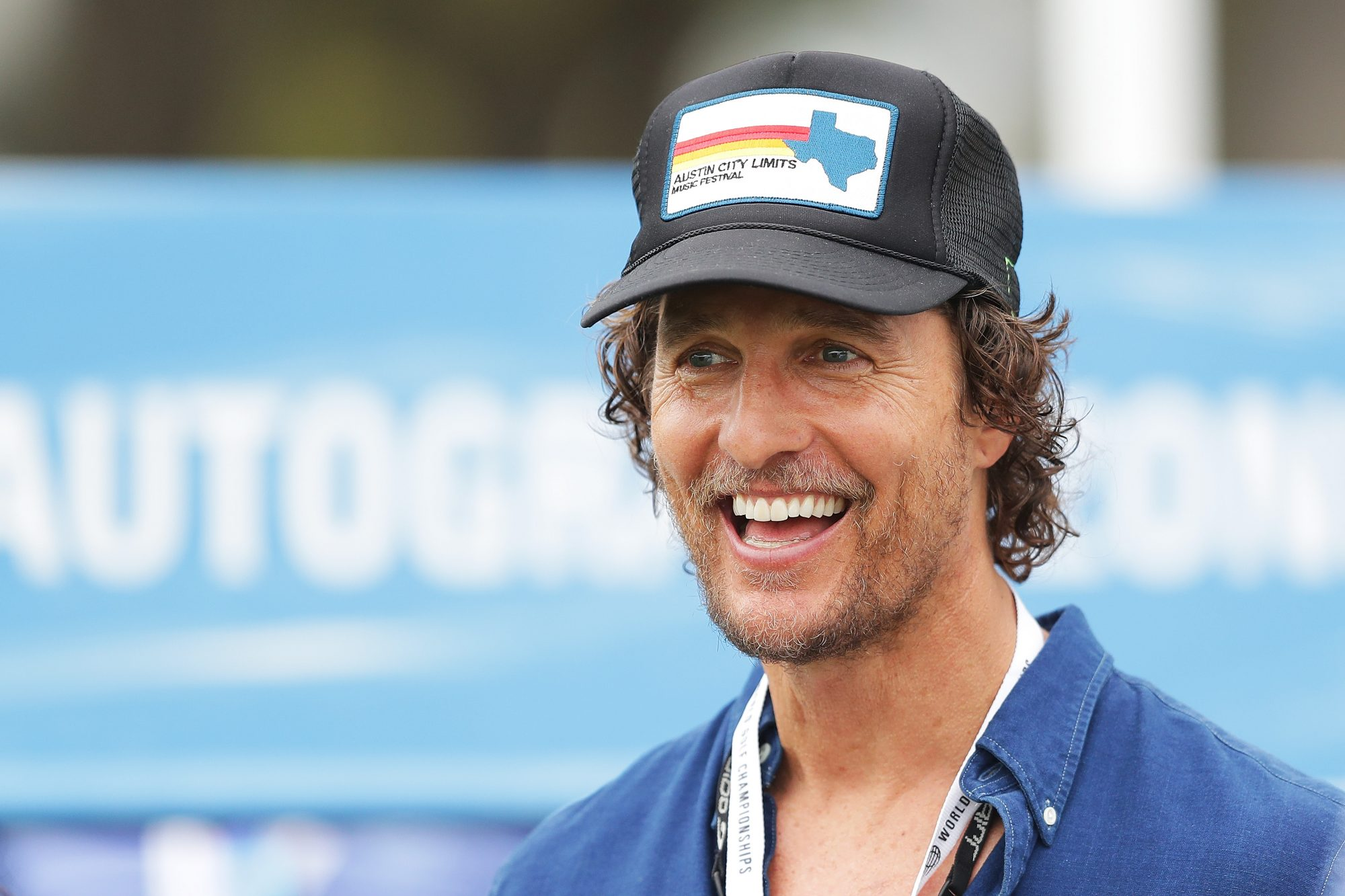 Matthew McConaughey Makes Surprise Appearance at Texas ...