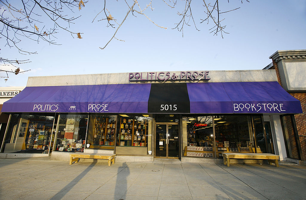 Politics and Prose Bookstore in Washington, DC
