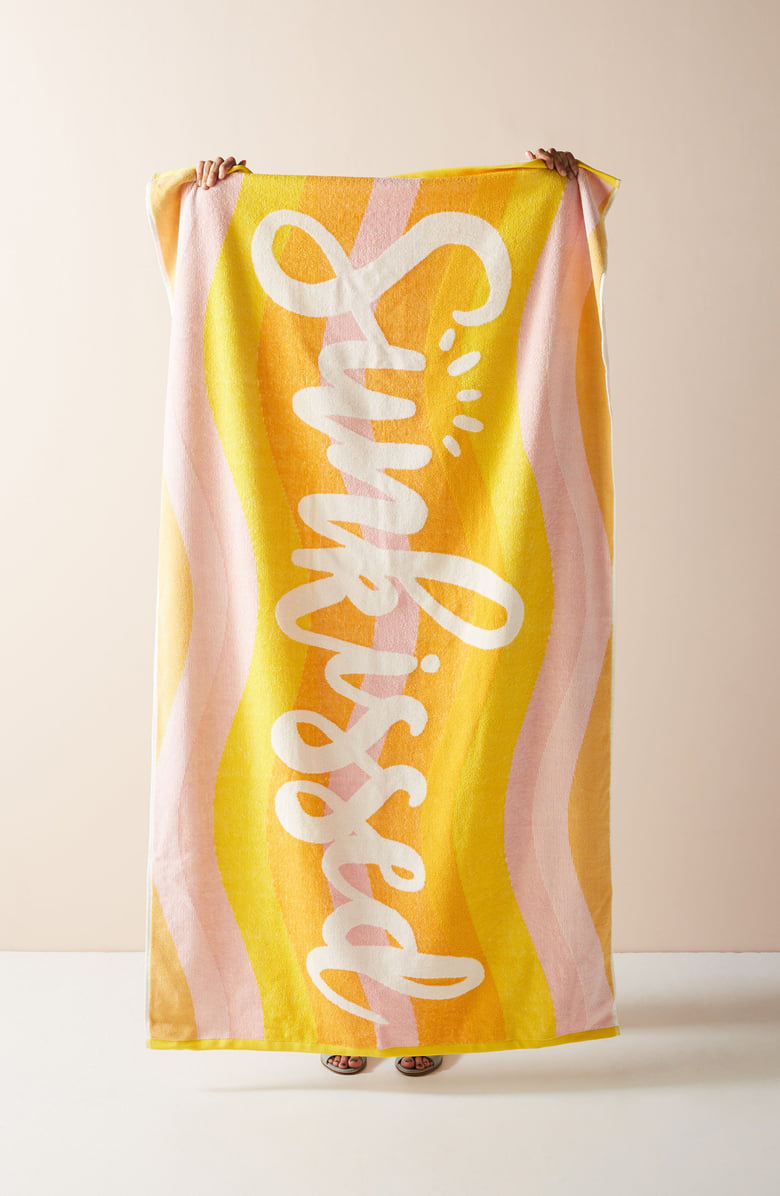 The Graphic Towel to Get Yourself