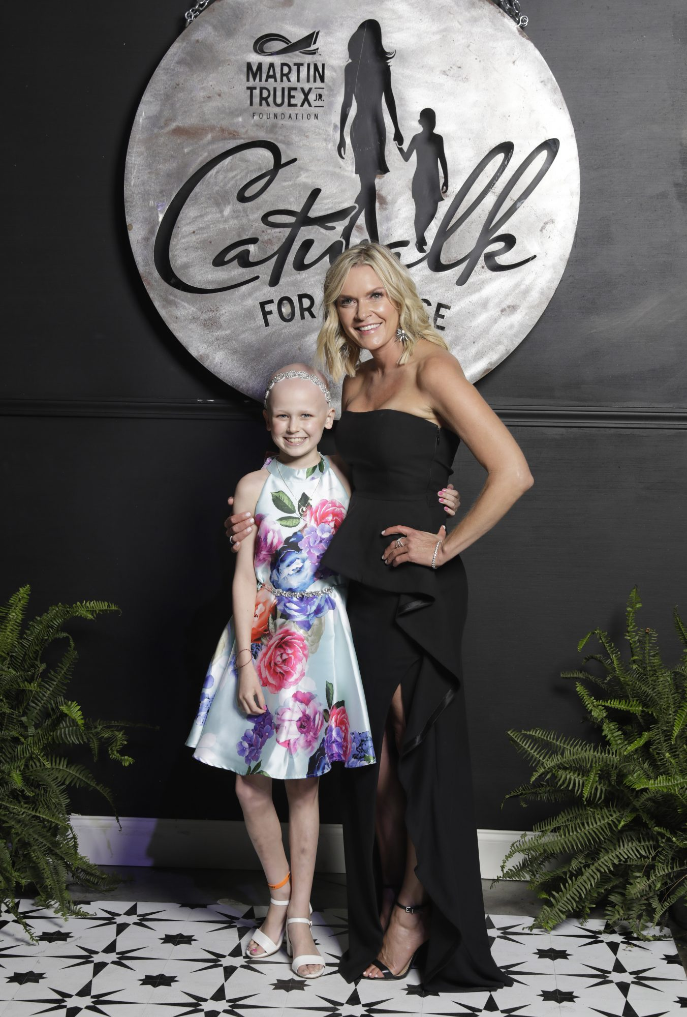 Sherry Pollex and Little Girl