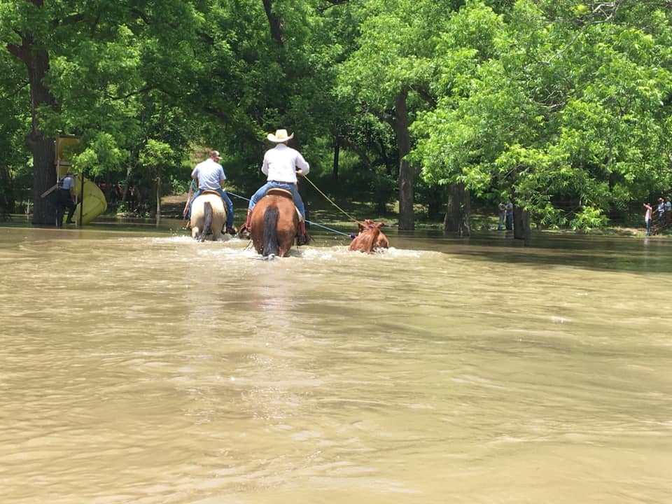 Cowboys Flooding Rescue