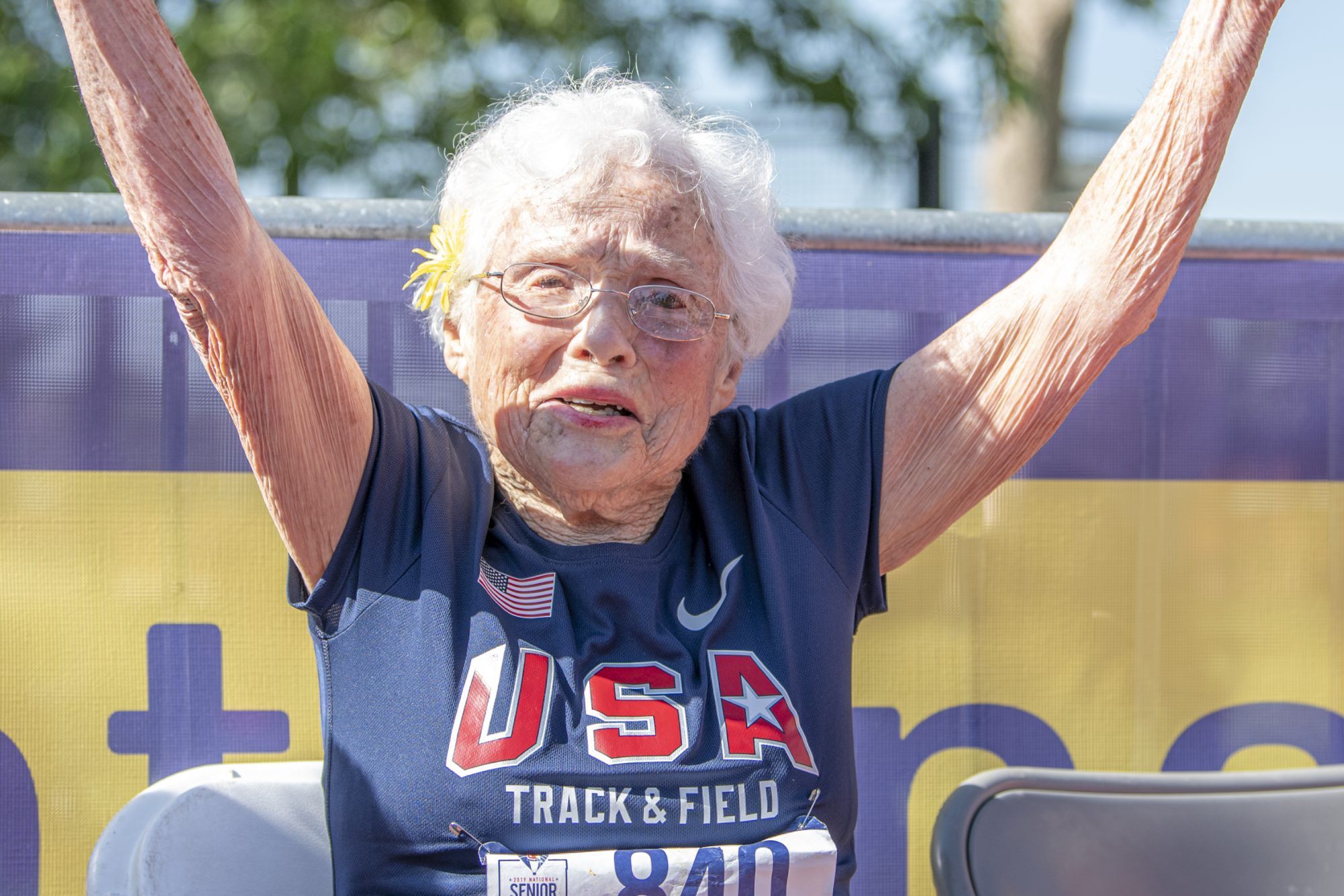 Julia Hawkins National Senior Games