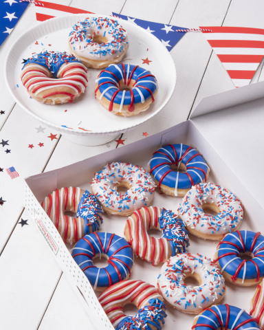 Krispy Kreme Let Freedom Ring