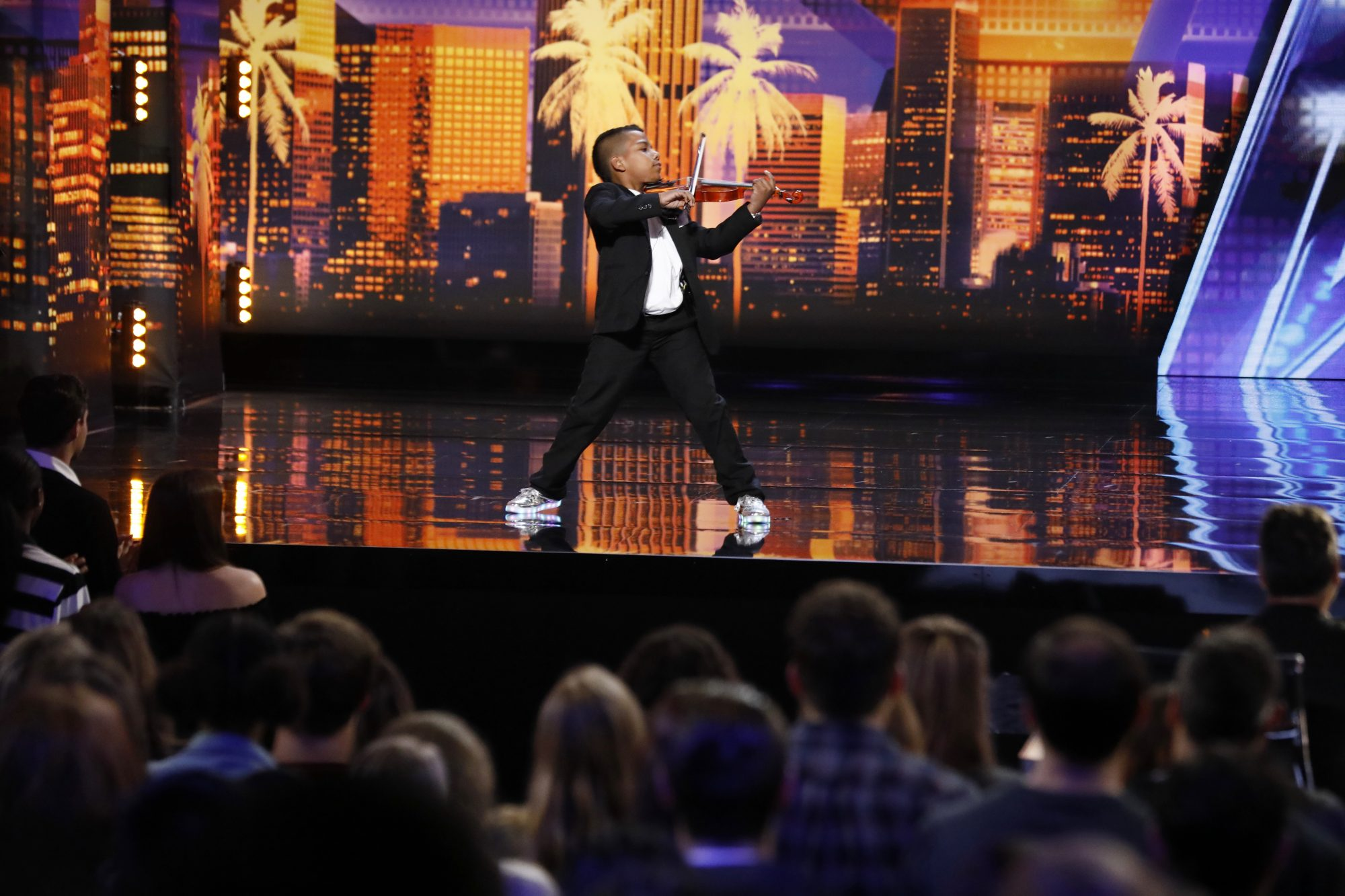 Watch This 11-Year-Old North Carolina Boy's Golden Moment from America's Got Talent