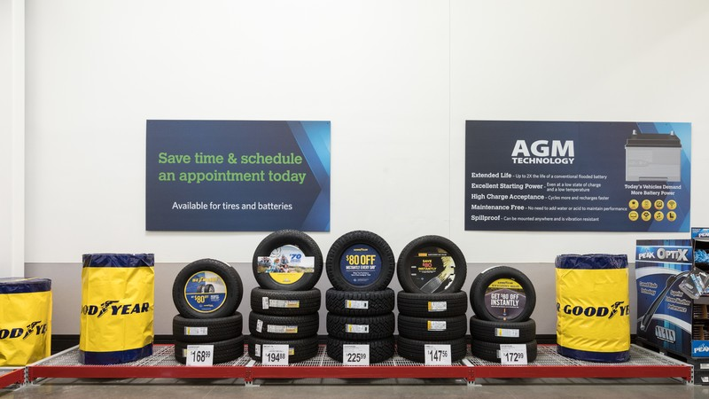 Sam's Club Tire Shop