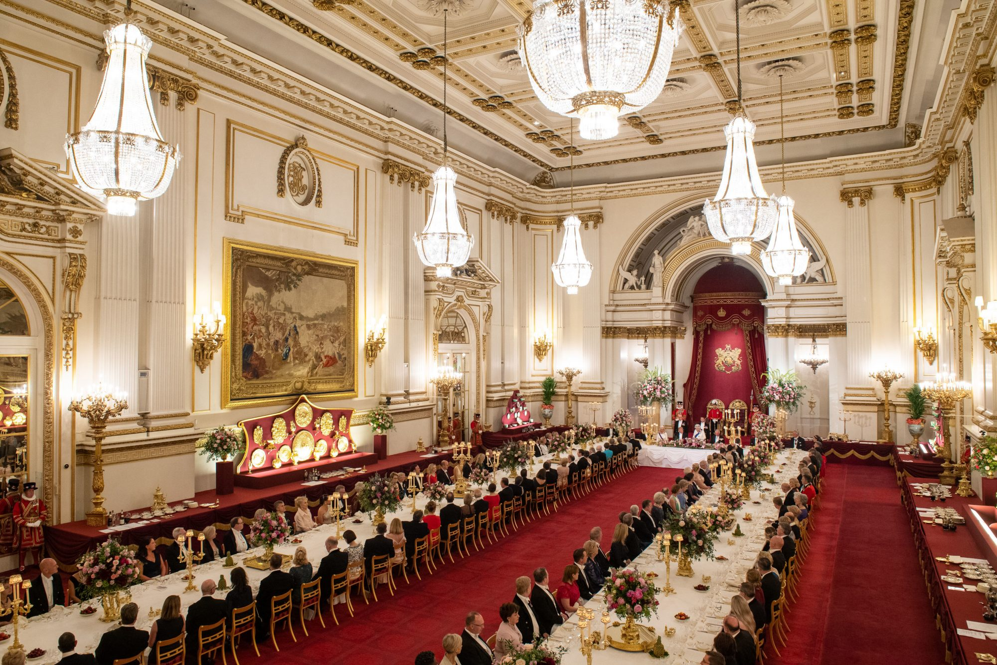 Buckingham Palace State Dinner President Trump