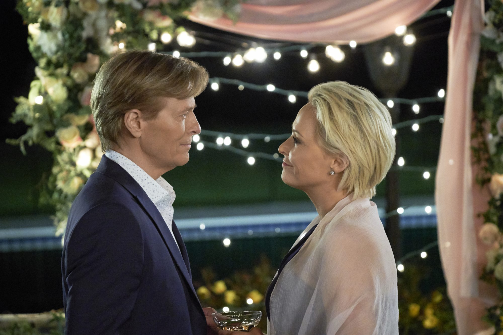 Jack Wagner and Josie Bissett Wedding March 5