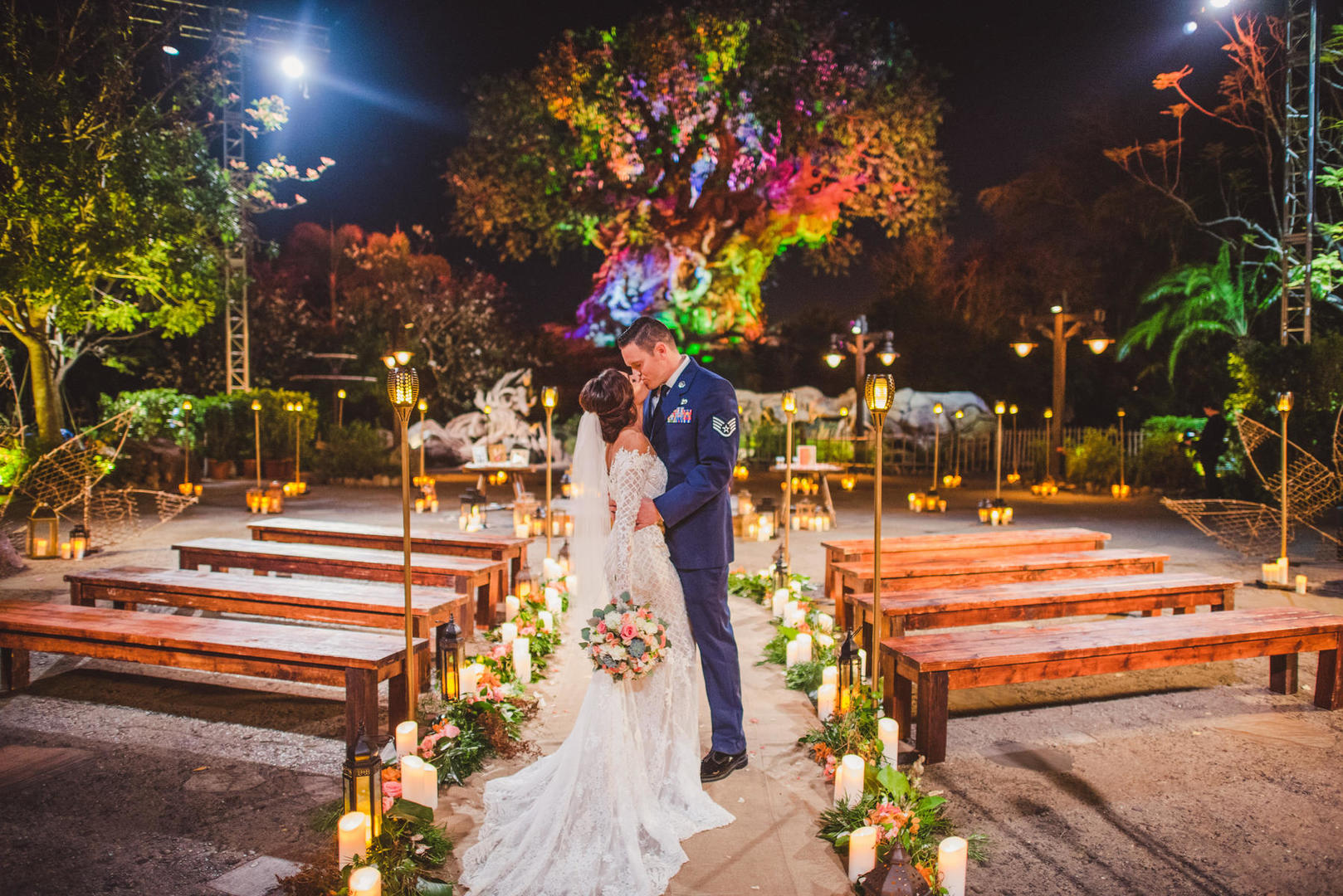 Wedding Ceremony Venue at the Tree of Life