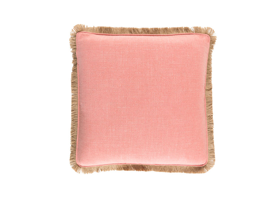 Guida Pillow in Coral