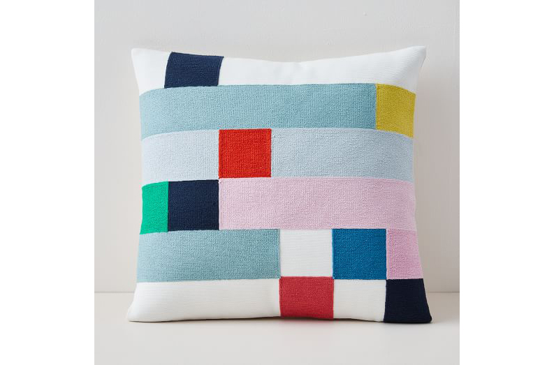 Margo Selby Mix Squares Pillow Cover