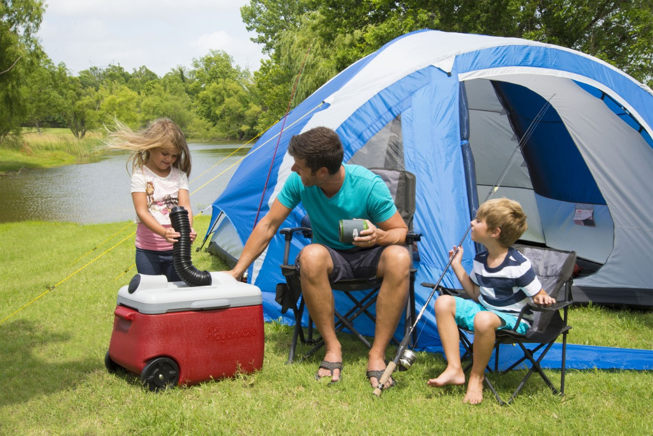 Family Camping with IcyBreeze