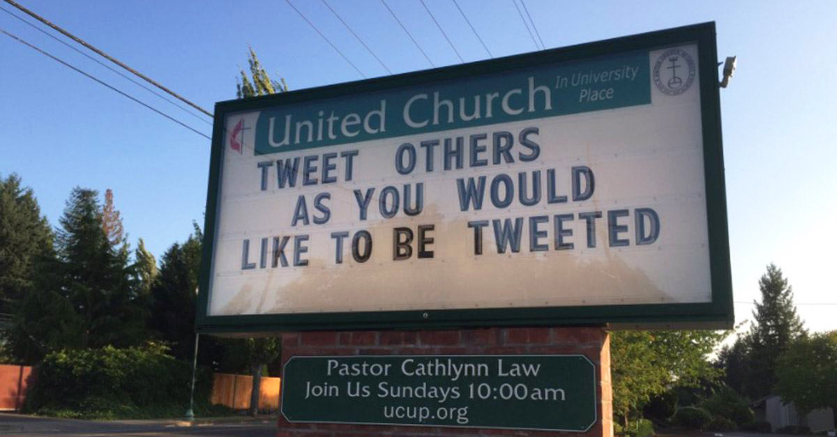 Tweet Others As You Would Like to Be Tweeted