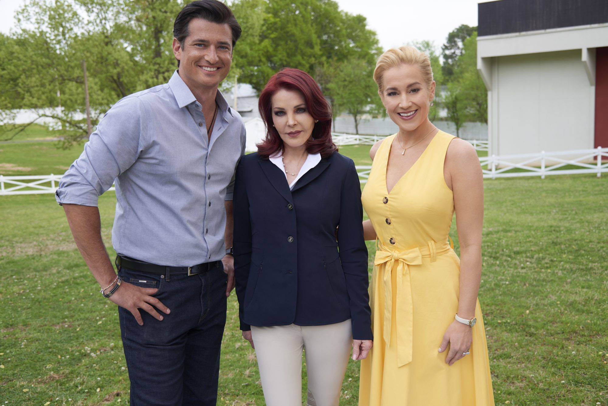 Wes Brown, Priscilla Presley, Kellie Pickler