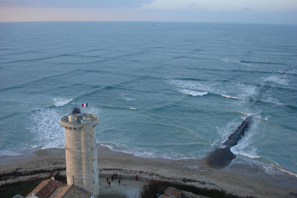 Cross Sea Waves Dangerous Photo