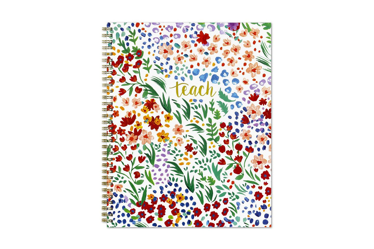 Blue Sky Teacher Weekly/Monthly Academic Planner in Ditsy Dapple Floral