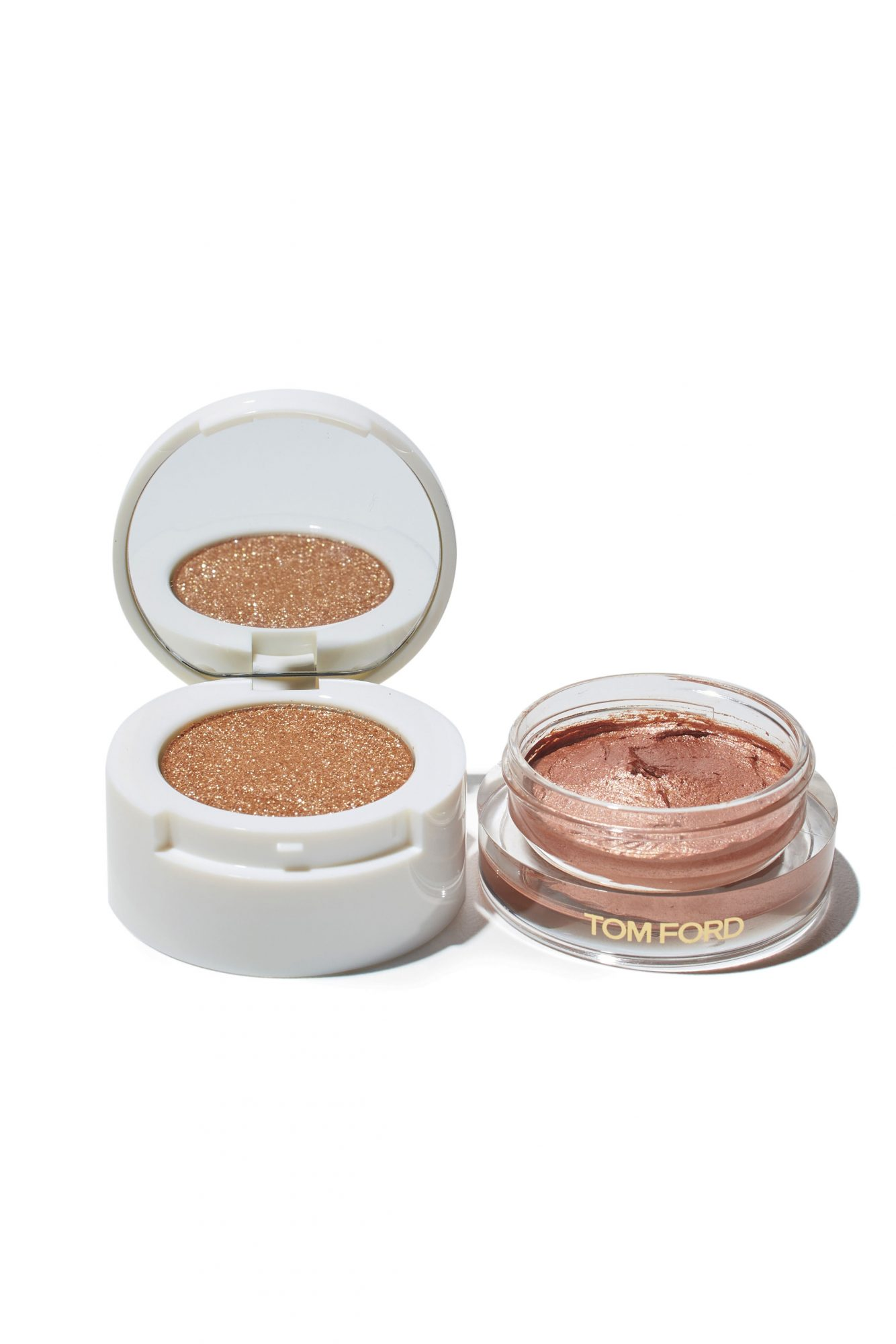 Tom Ford Cream and Powder Eye Color in Golden Peach