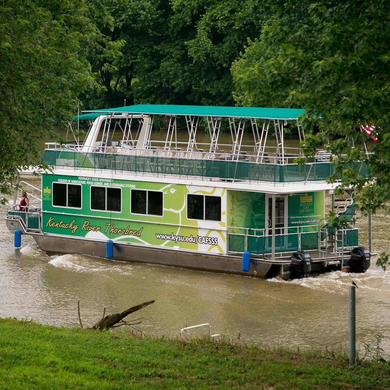 Kentucky State University Is Hosting Free Educational Boat Tours Along the Kentucky River