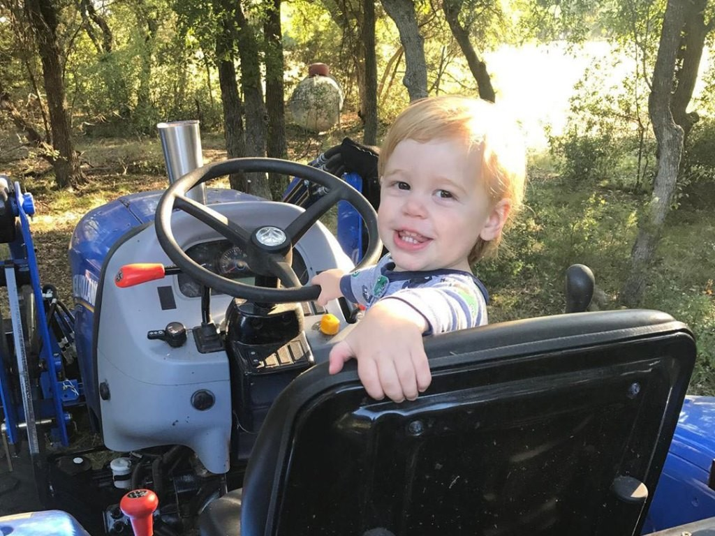 Granger and Amber Smith's son