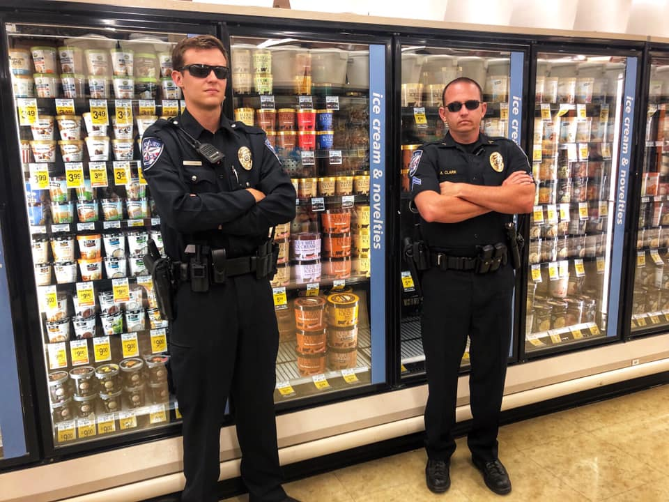 Blue Bell Ice Cream Police