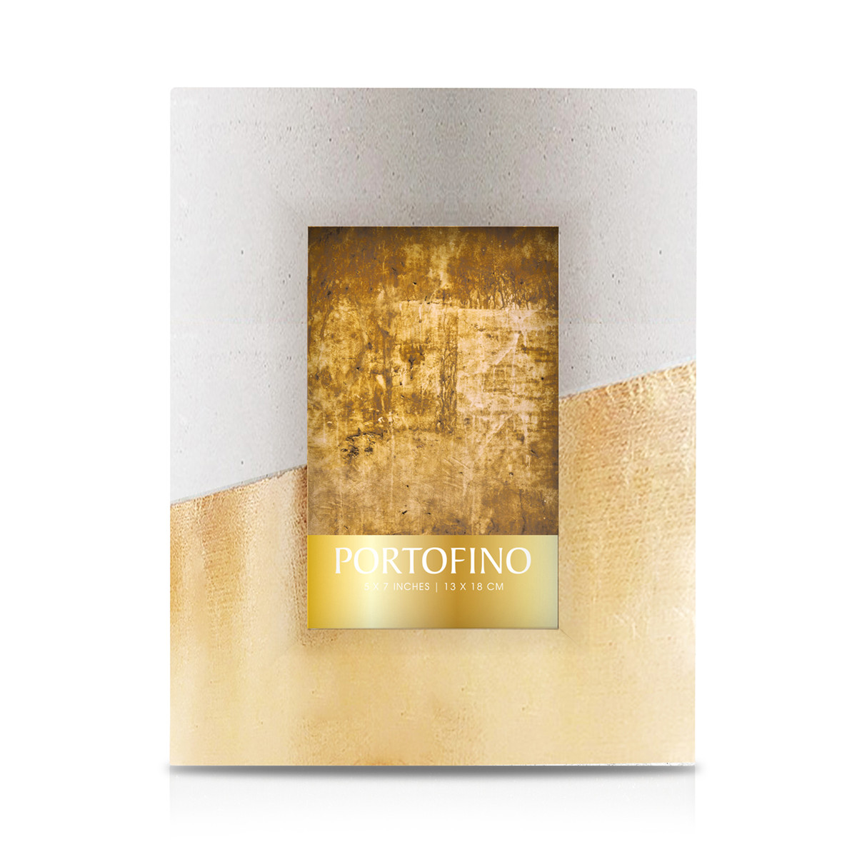 Argento SC Gold Concrete Block Picture Frame at Bloomingdale's, $28