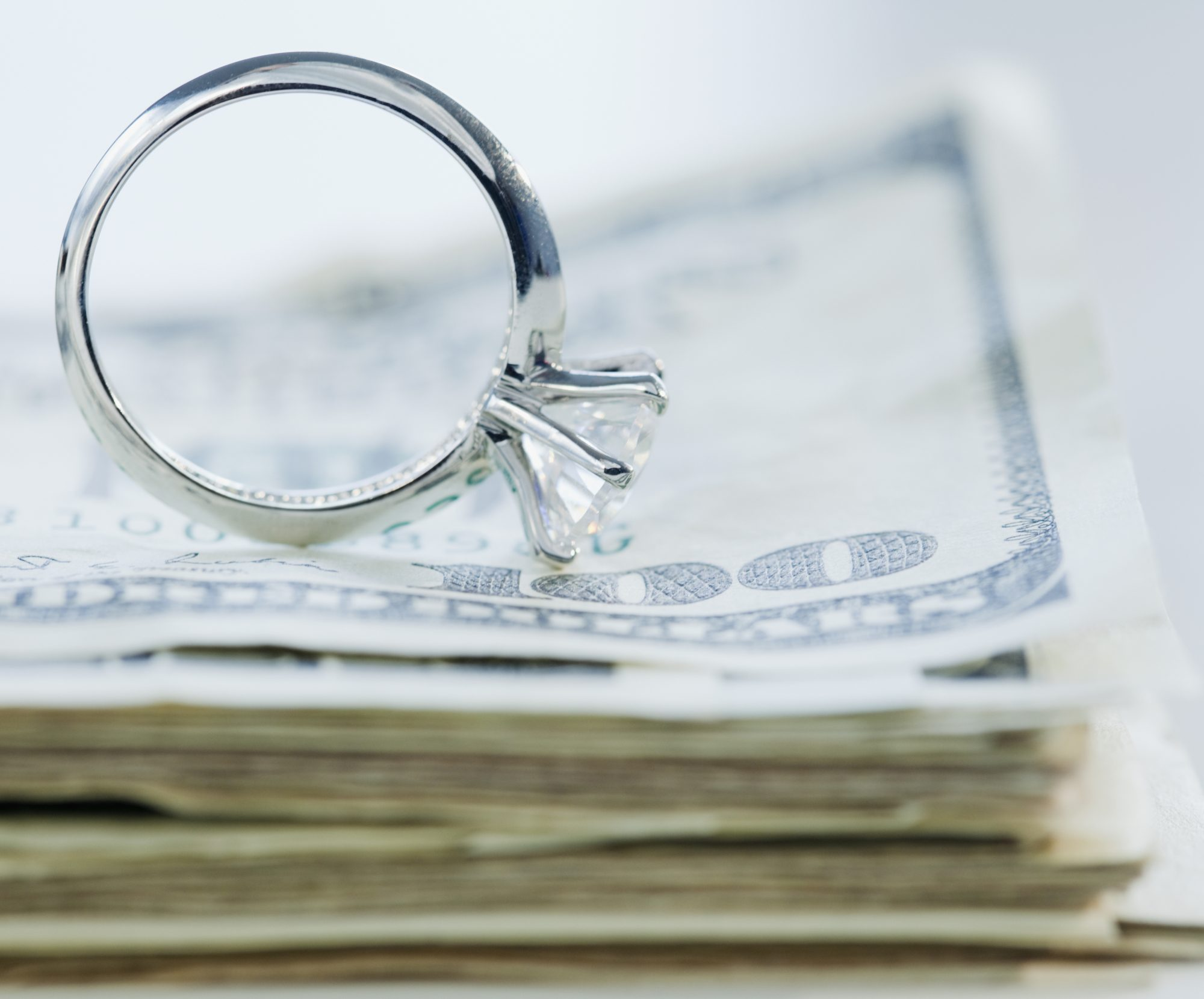 Survey Finds 45% of Newlyweds Went Into Debt for Their Wedding