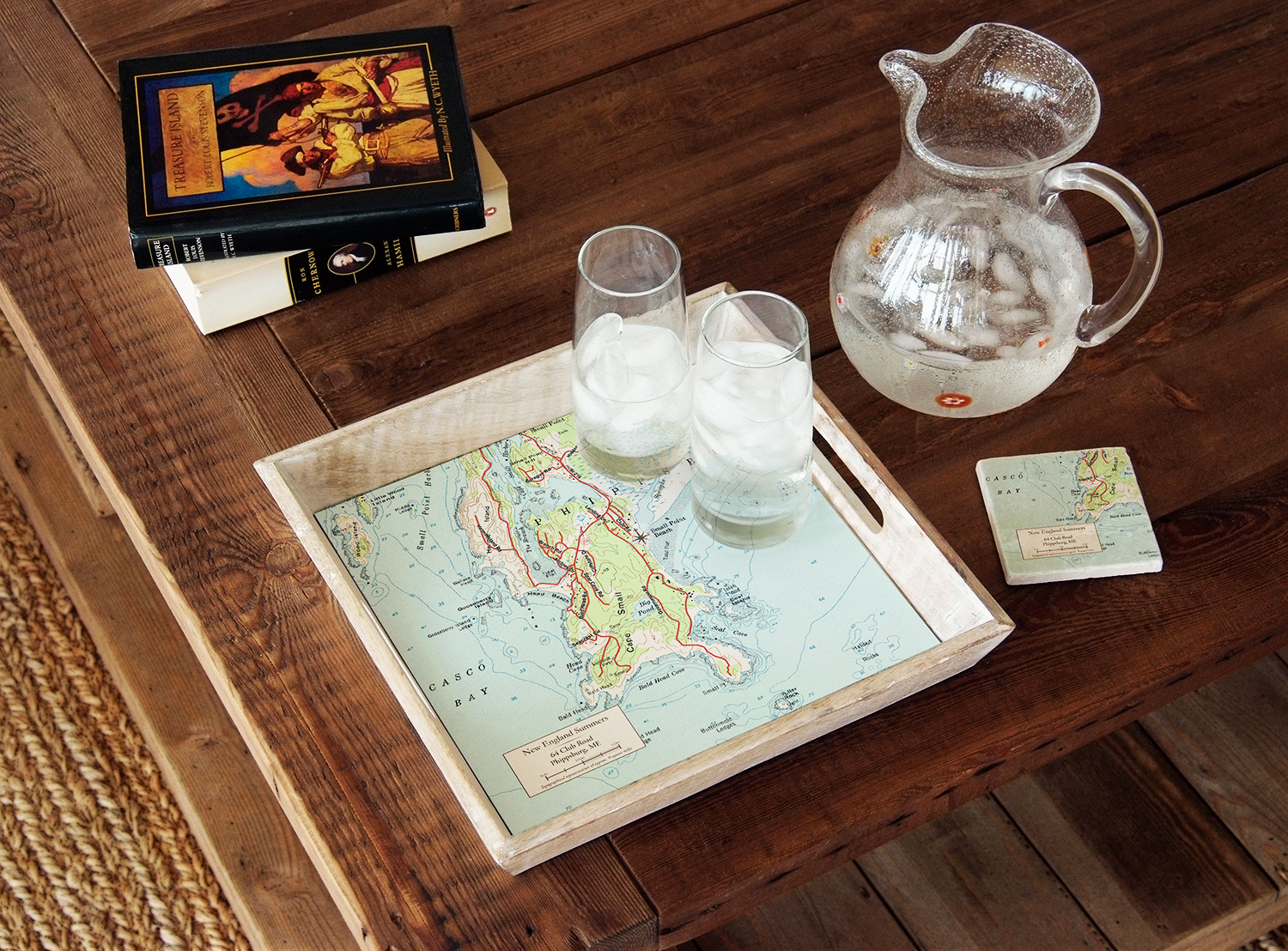 The Grommet ScreenCraft Gifts Custom Map Decor, from $65