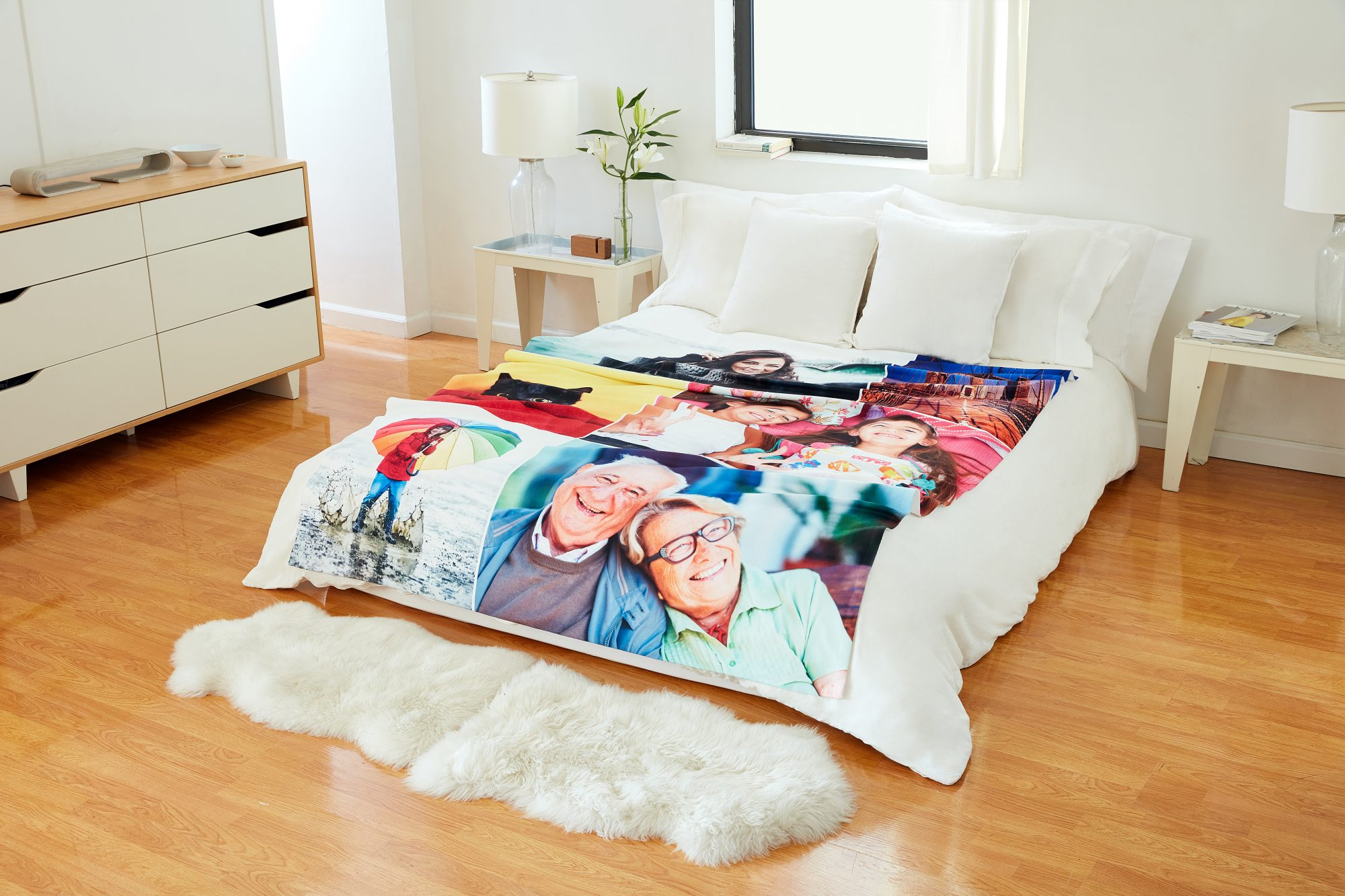 Collage Photo Blankets, from $55.97