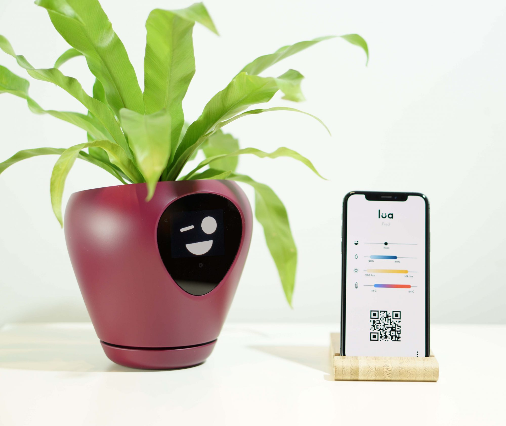 Lua Smart Planter with App
