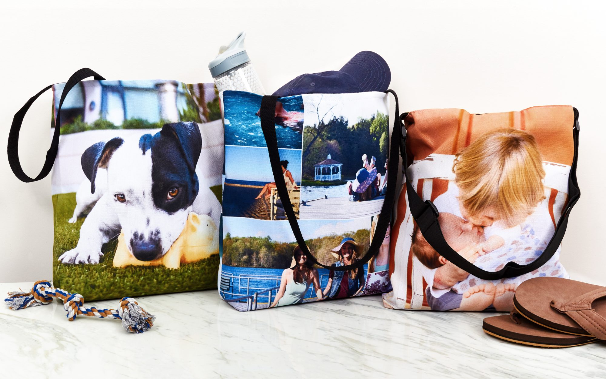 Collage.com Personalized Tote Bag, from $15