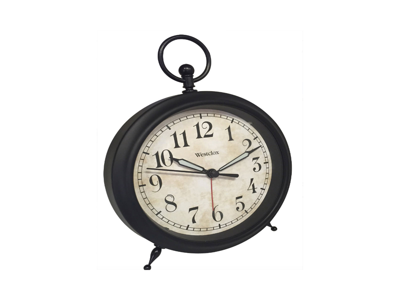 Westclox Top Ring Decor Alarm Clock