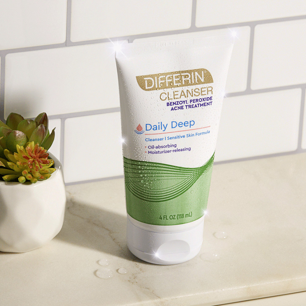 Differin Daily Deep Cleanser with Benzoyl Peroxide