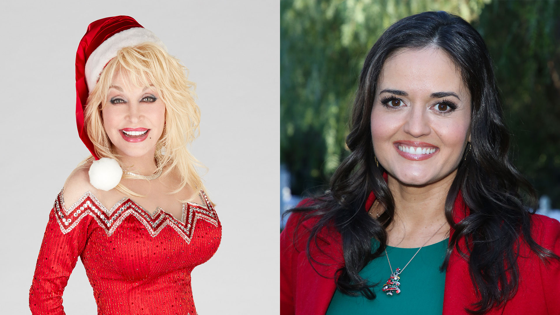 Dolly Parton and Danica McKellar